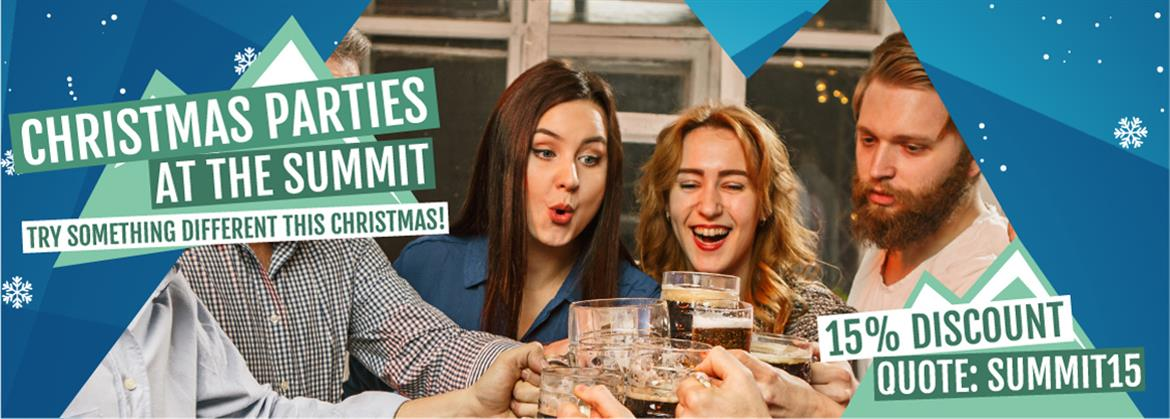 Book your Christmas party at Summit Indoor Adventure