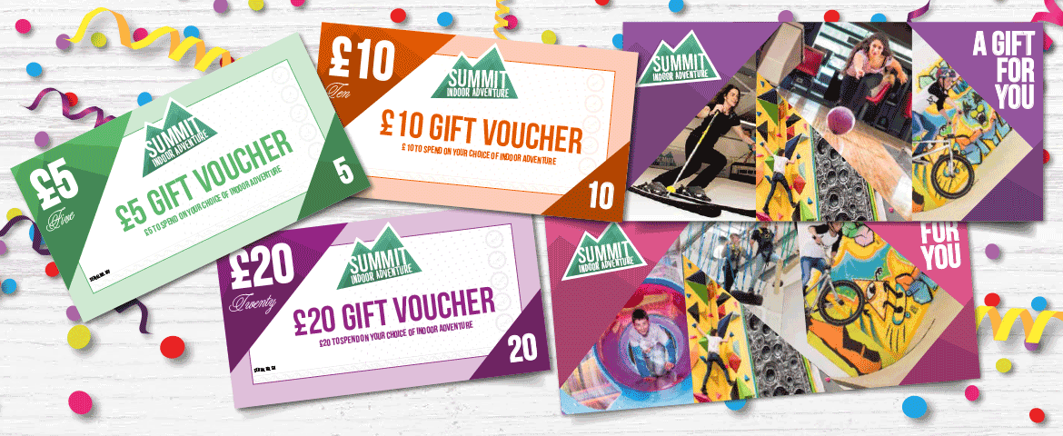 Give the gift of adventure with Summit gift vouchers