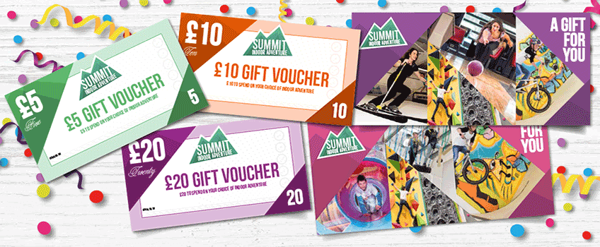 Buy Summit gift vouchers and give someone an adventure to treasure forever