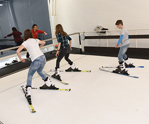 Learn to ski at Summit Indoor Adventure